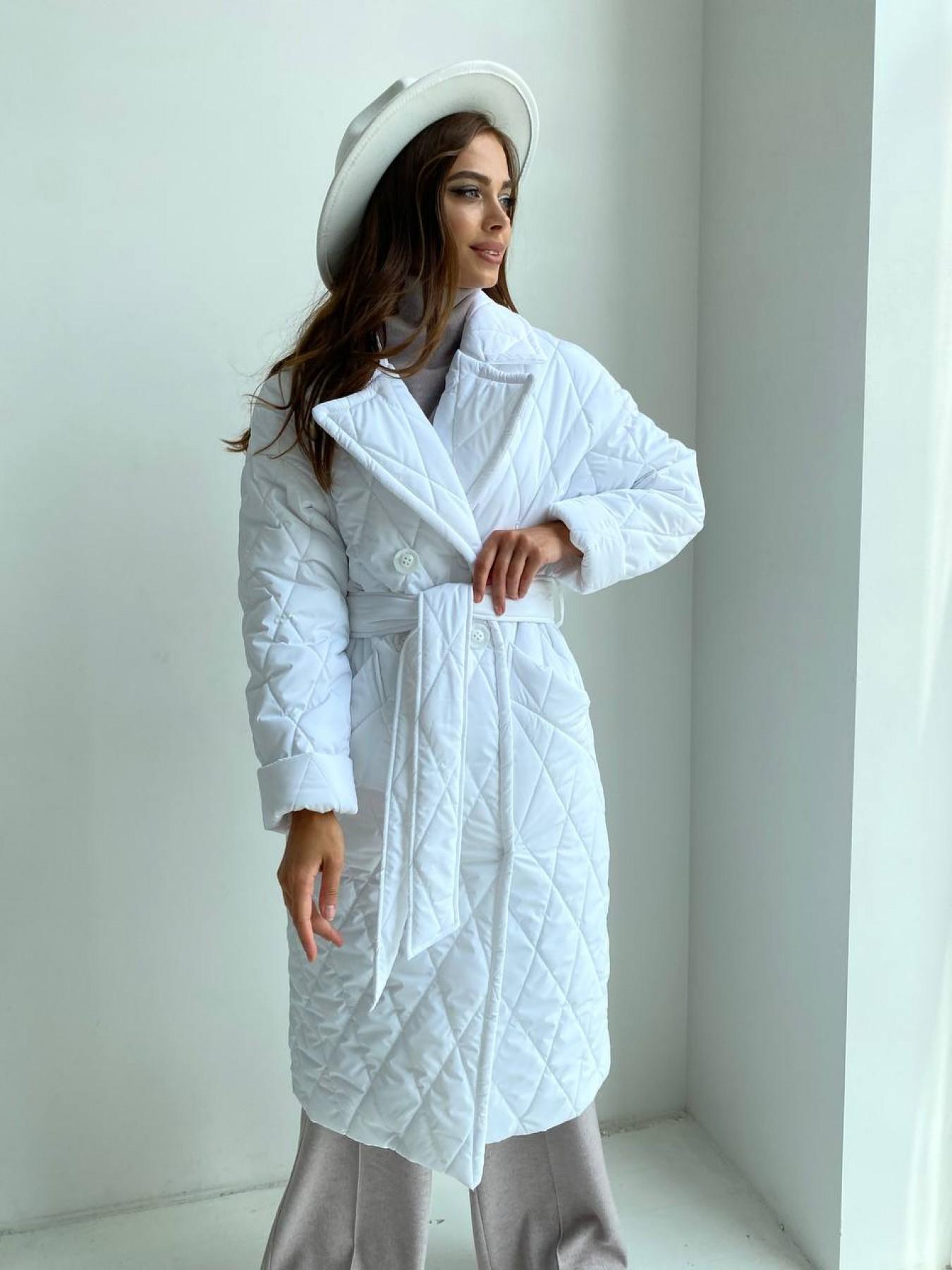Модные женские пальто от Modus Хаски пальто из стеганой плащевки в ромб 11697