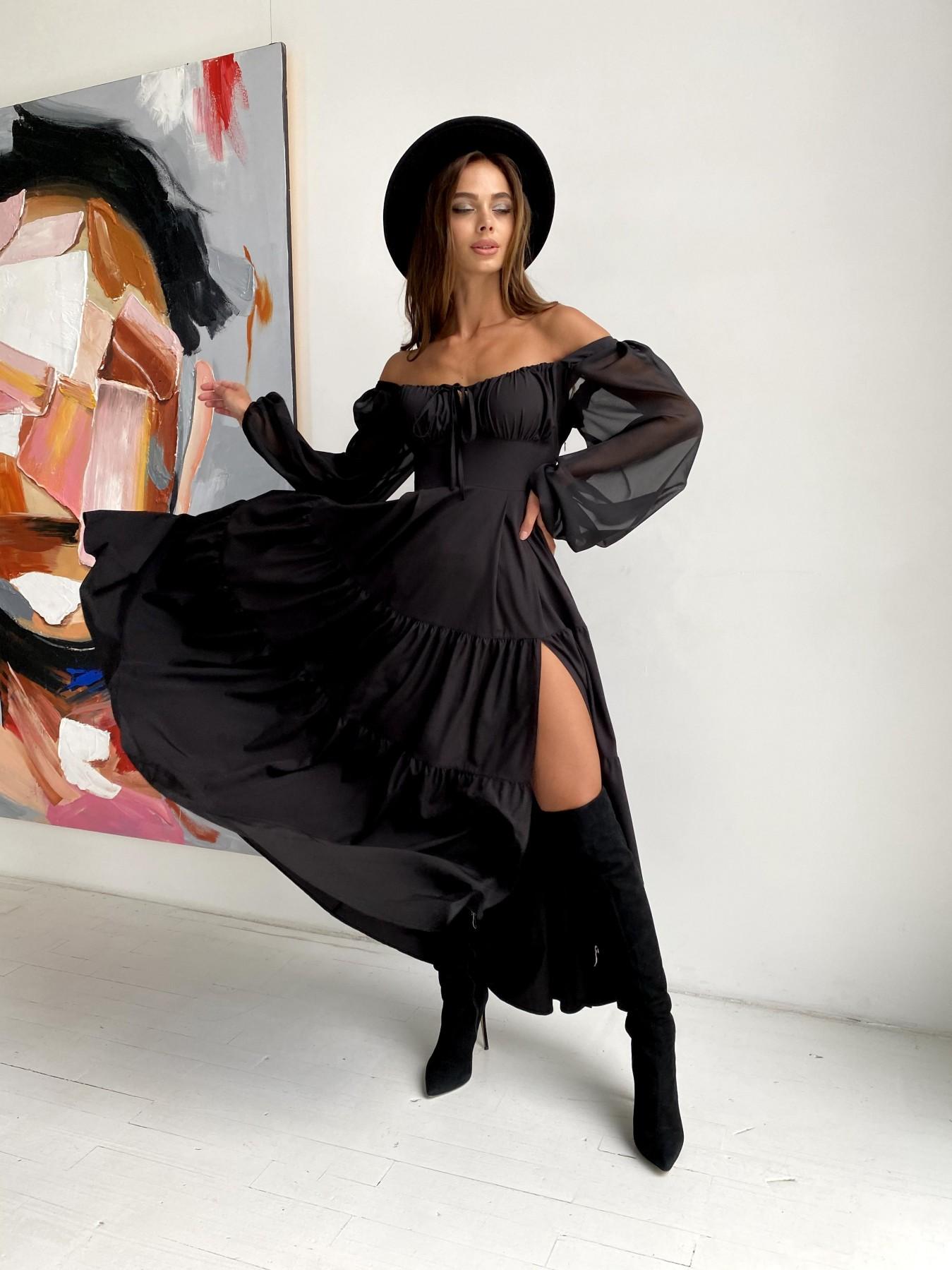 Купить платье в Харькове Сейшелы д/р софт стрейч платье 11752