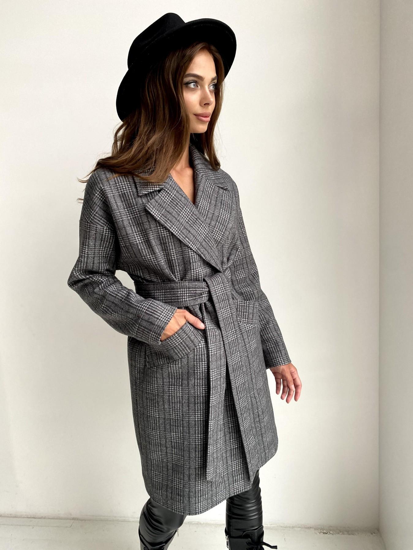Женское пальто от производителя от Modus Сенсей пальто в клетку из тонкого кашемира 11754
