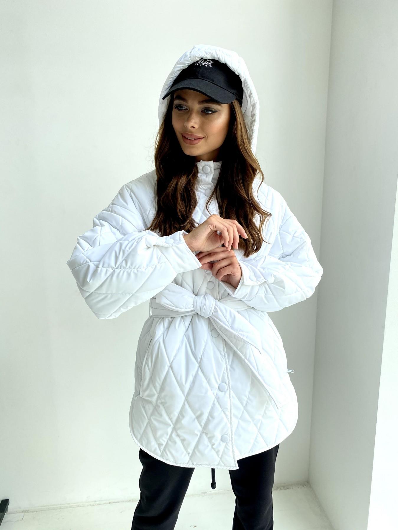 купить куртки женские Пазл стеганая куртка из плащевки 11764