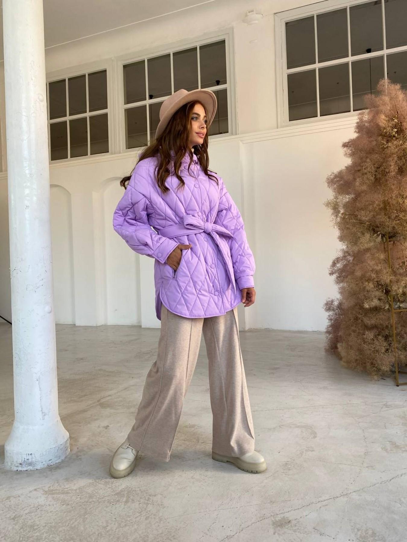 Пазл стеганая куртка из плащевки 11764 АРТ. 48506 Цвет: Лаванда 1 - фото 3, интернет магазин tm-modus.ru