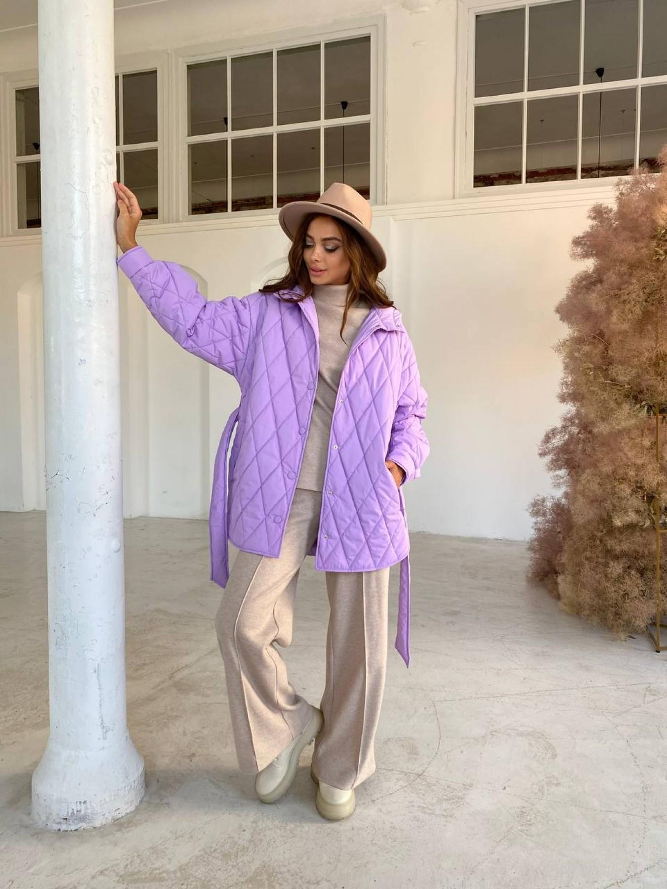 Пазл стеганая куртка из плащевки 11764 АРТ. 48506 Цвет: Лаванда 1 - фото 6, интернет магазин tm-modus.ru