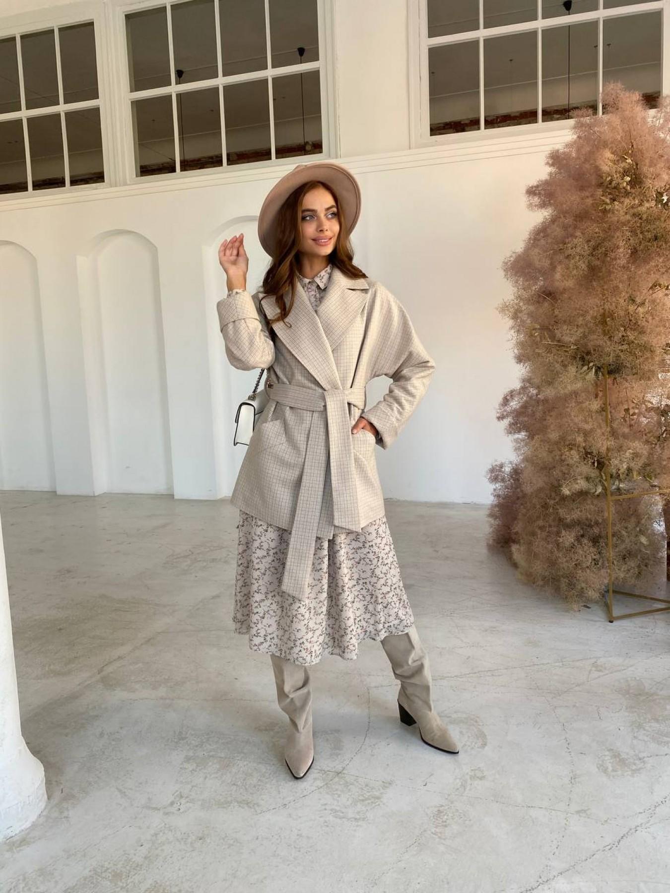 Купить пальто оптом от Modus Дефиле пальто из тонкого кашемира 11745