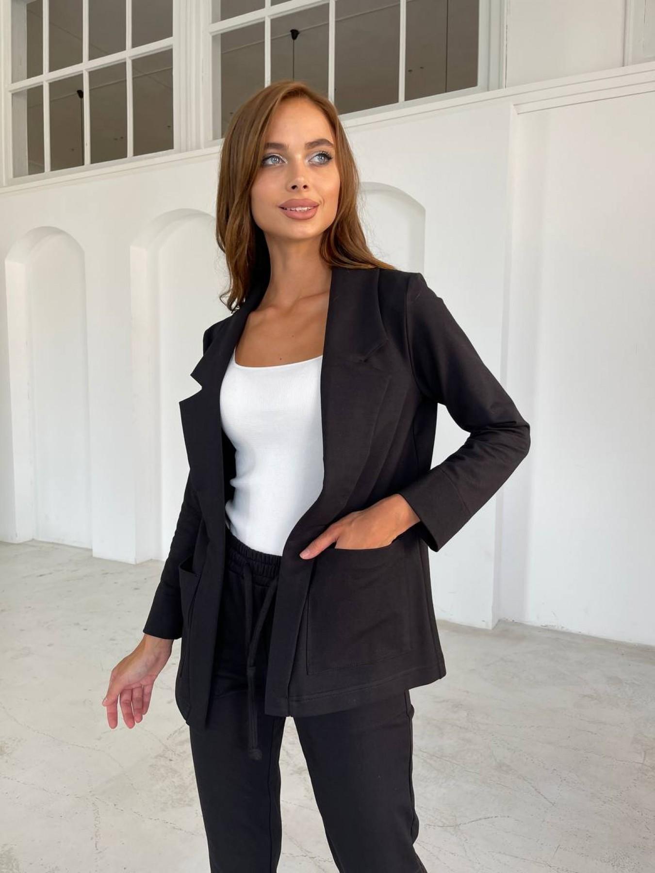 Женская одежда оптом от производителя Морган трикотаж двухнитка турция тонкий костюм 11768