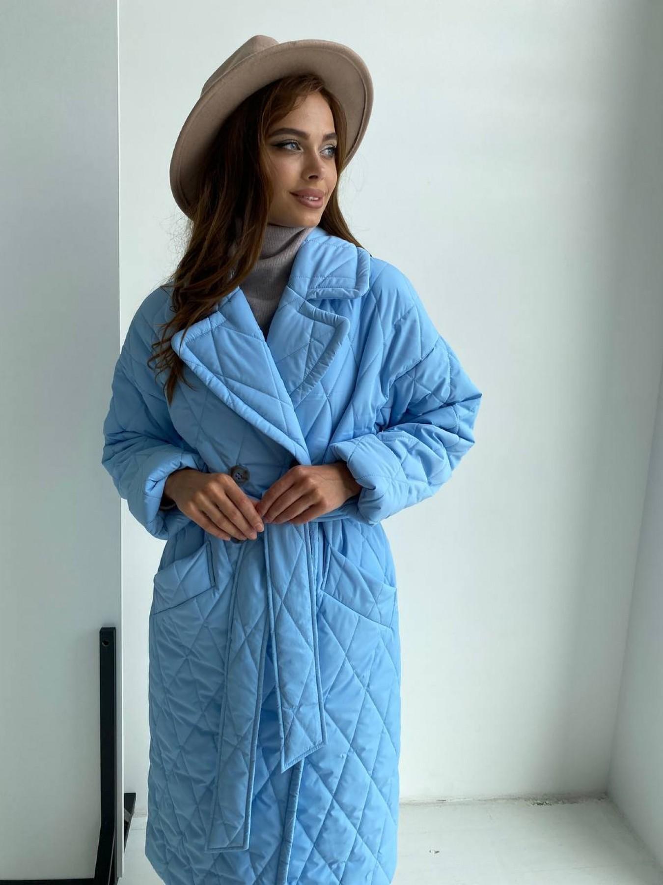 Женское пальто оптом TM Modus Хаски пальто из стеганой плащевки в ромб 11697