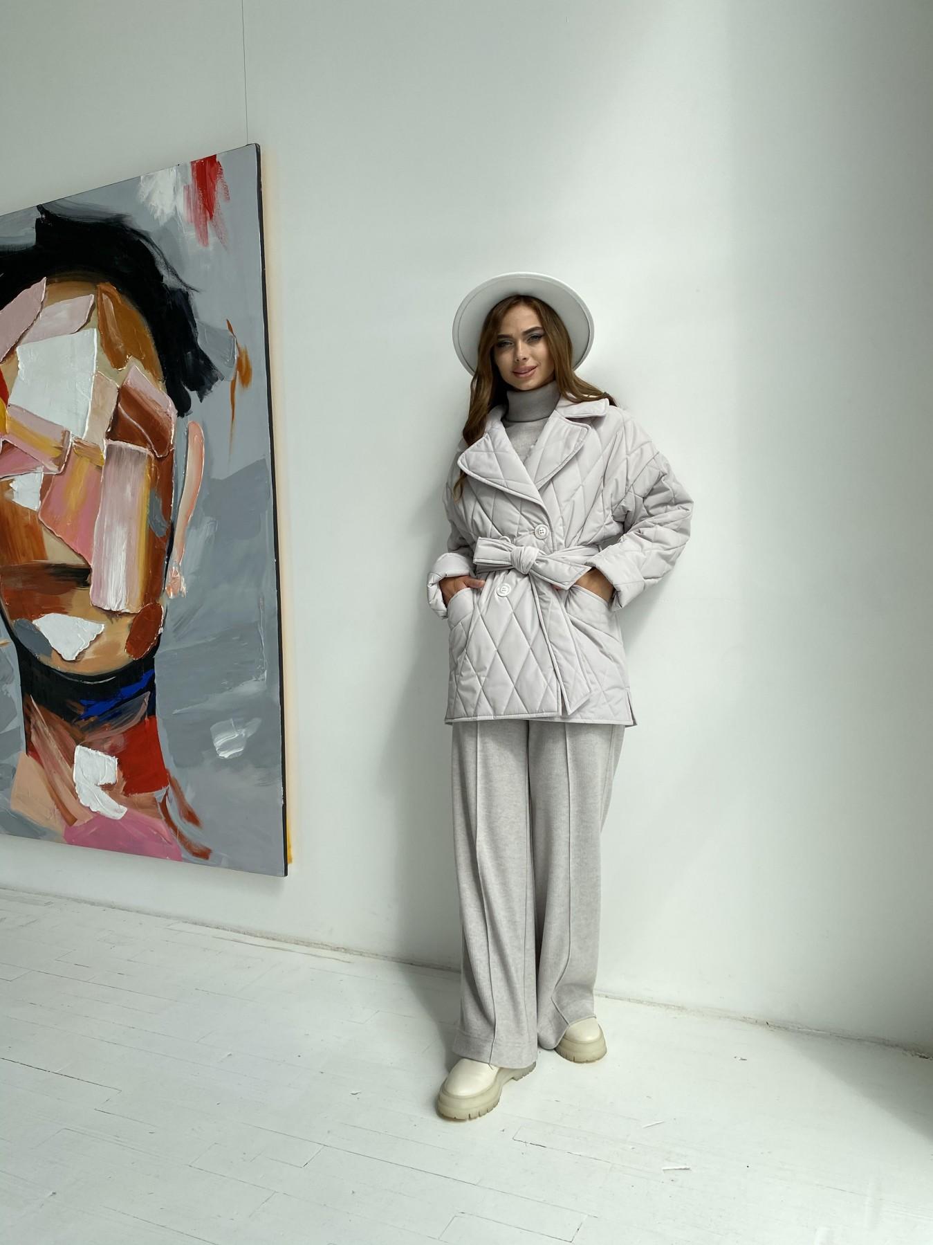 Норд стеганая куртка из плащеки 11770  АРТ. 48510 Цвет: Бежевый 971 - фото 1, интернет магазин tm-modus.ru