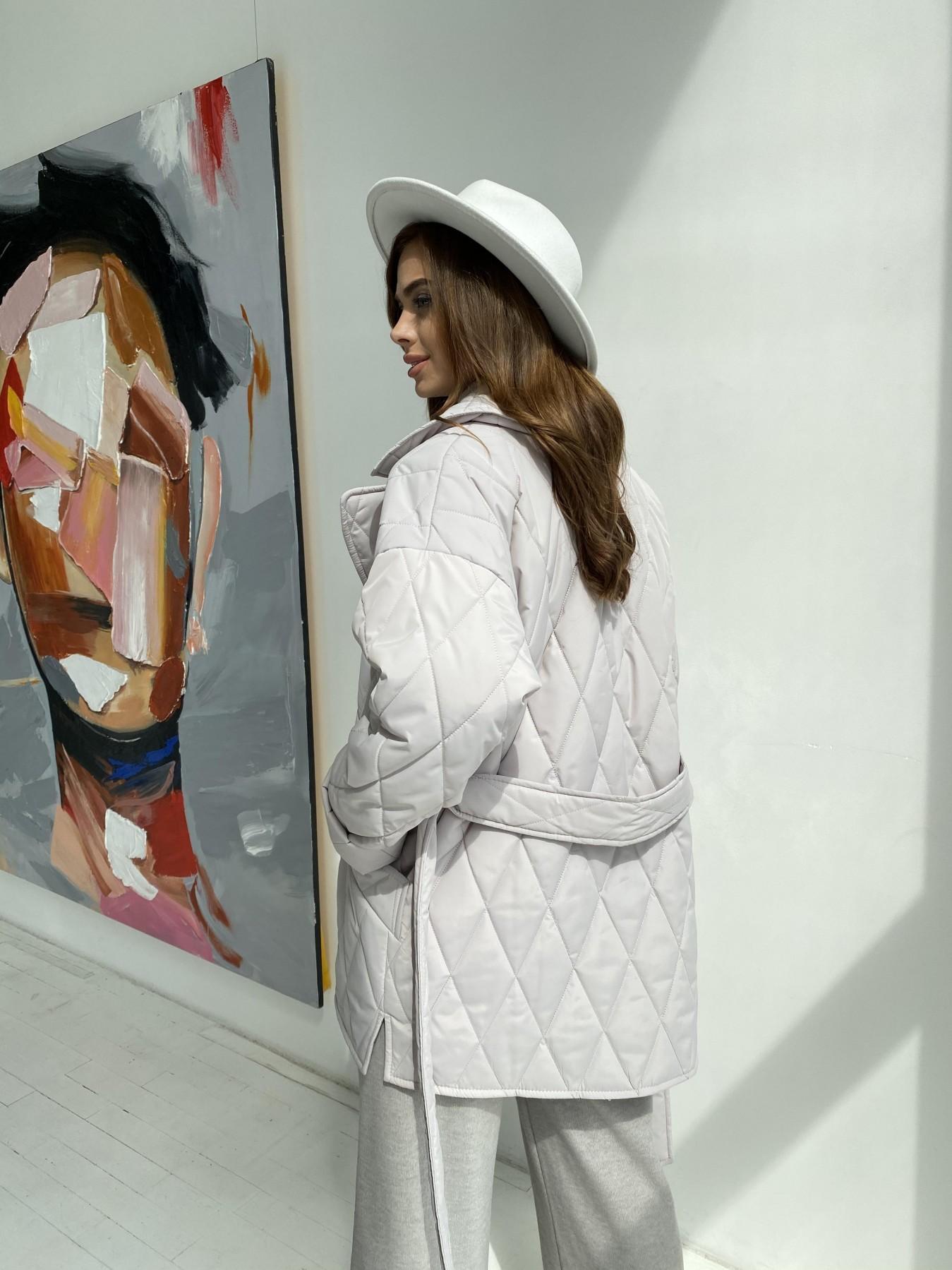 Норд стеганая куртка из плащеки 11770  АРТ. 48510 Цвет: Бежевый 971 - фото 3, интернет магазин tm-modus.ru