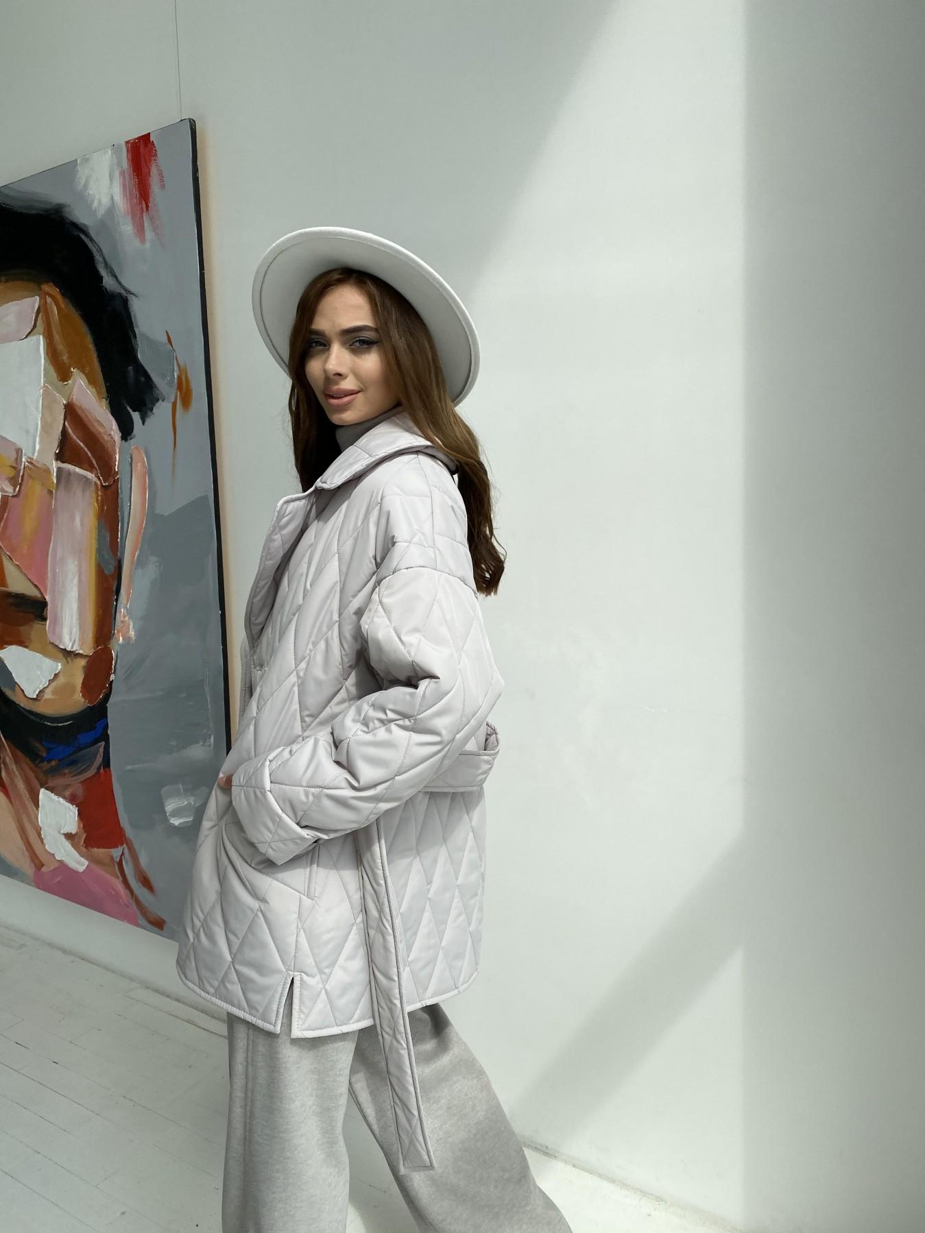 Норд стеганая куртка из плащеки 11770  АРТ. 48510 Цвет: Бежевый 971 - фото 4, интернет магазин tm-modus.ru