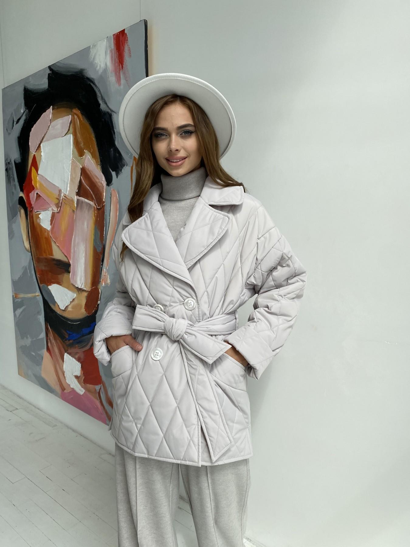 куртки демисезонные женские Украина Норд стеганая куртка из плащеки 11770
