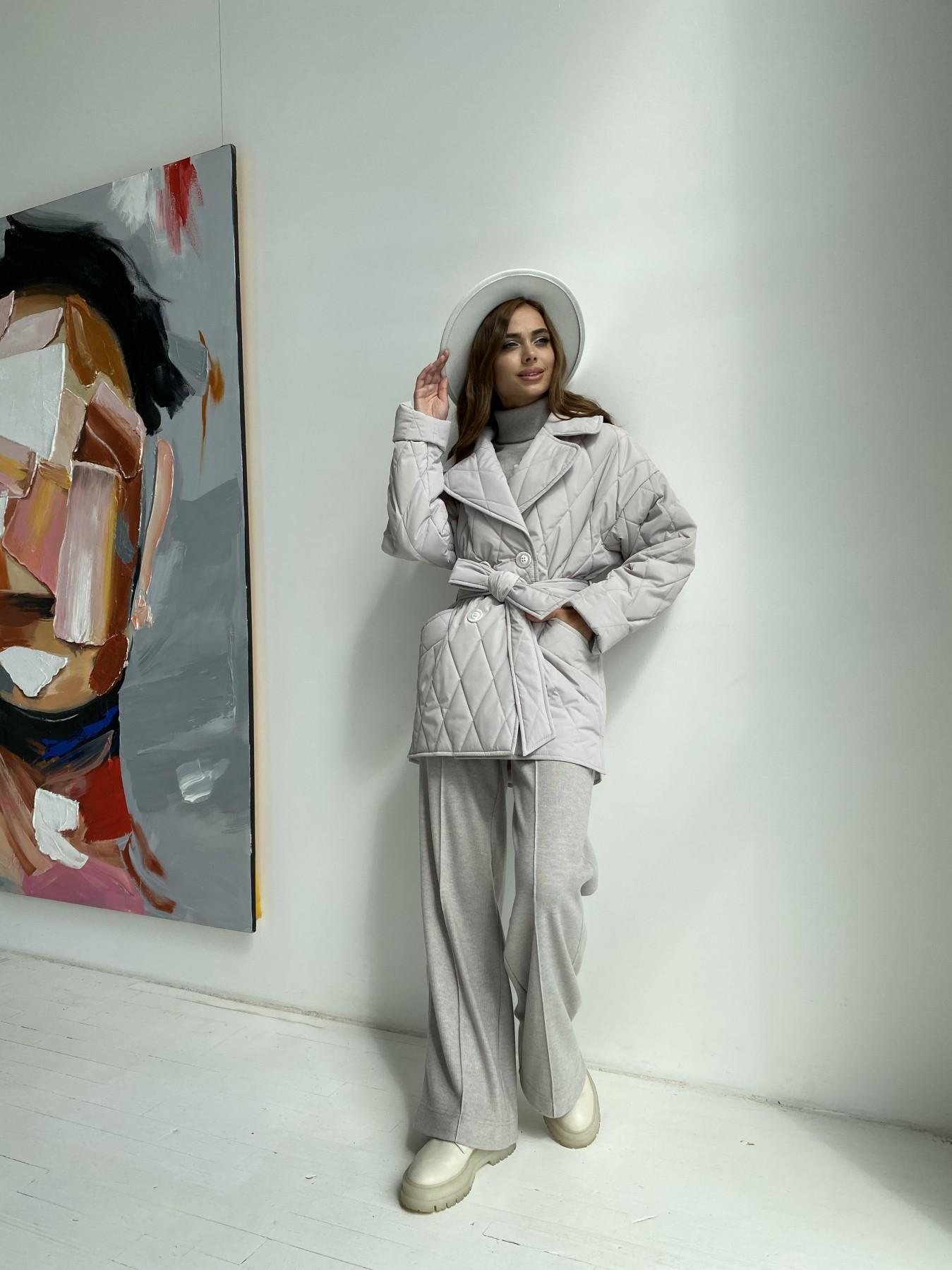 Норд стеганая куртка из плащеки 11770  АРТ. 48510 Цвет: Бежевый 971 - фото 6, интернет магазин tm-modus.ru