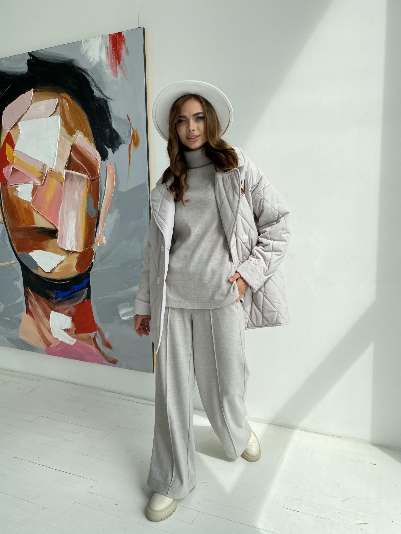 Норд стеганая куртка из плащеки 11770  АРТ. 48510 Цвет: Бежевый 971 - фото 7, интернет магазин tm-modus.ru