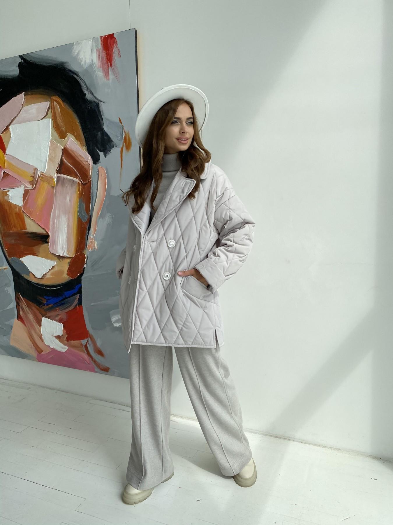 Норд стеганая куртка из плащеки 11770  АРТ. 48510 Цвет: Бежевый 971 - фото 8, интернет магазин tm-modus.ru