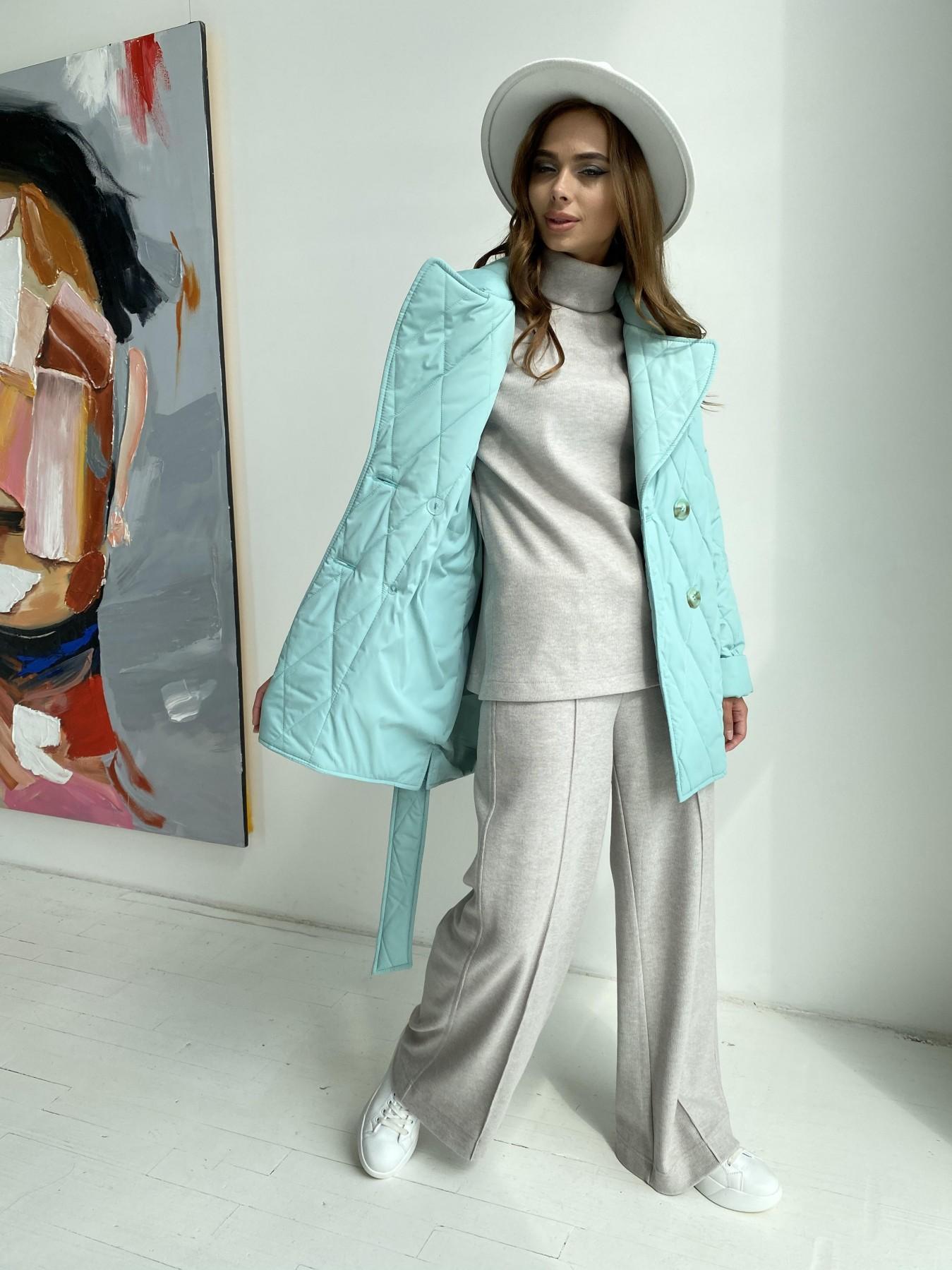 Норд стеганая куртка из плащеки 11770  АРТ. 48511 Цвет: Олива 2 - фото 5, интернет магазин tm-modus.ru