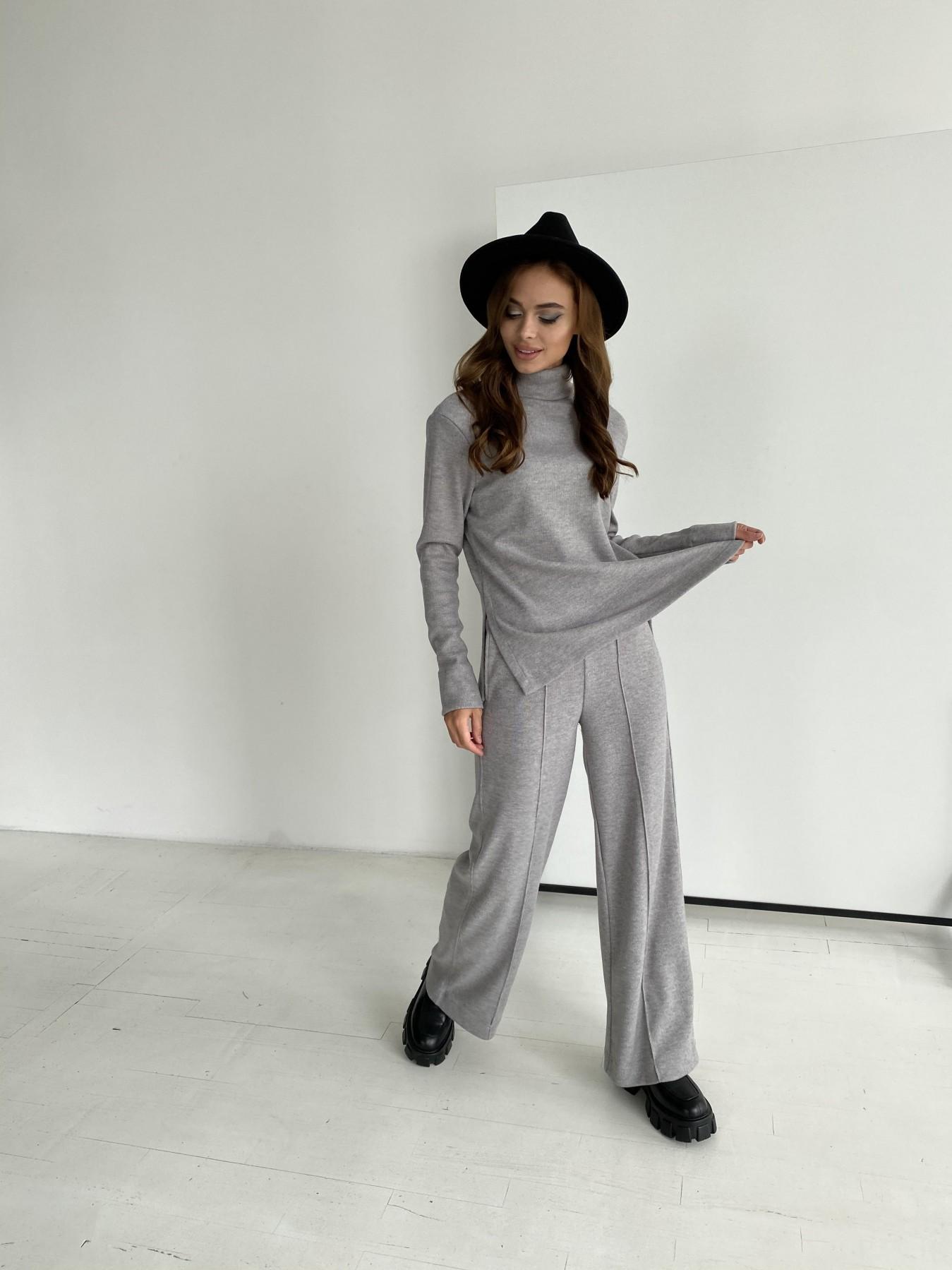 Эдем костюм из плотного трикотажа 11738 АРТ. 48444 Цвет: Серый - фото 2, интернет магазин tm-modus.ru