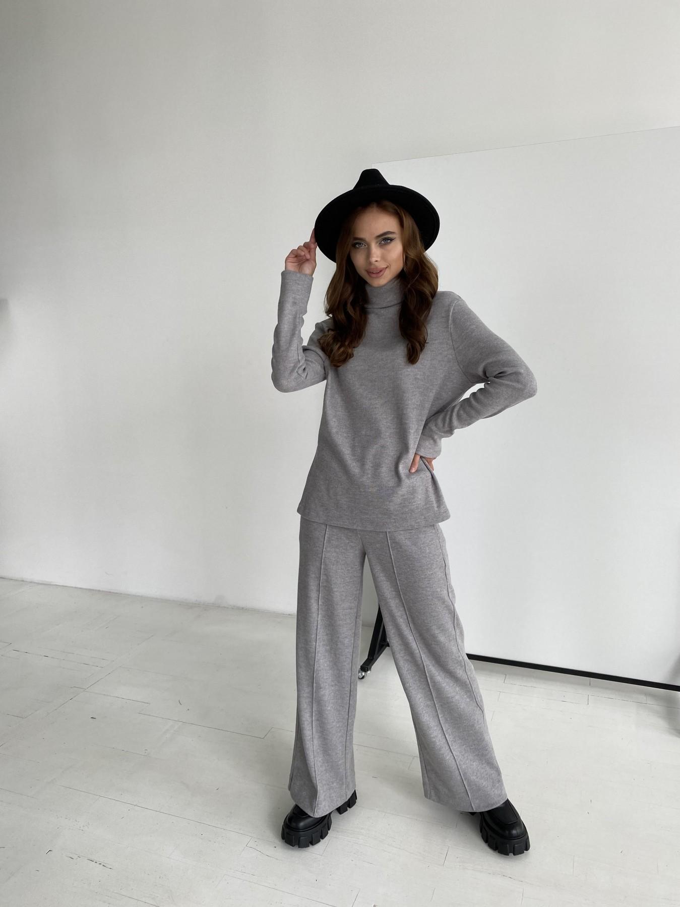 Эдем костюм из плотного трикотажа 11738 АРТ. 48444 Цвет: Серый - фото 5, интернет магазин tm-modus.ru