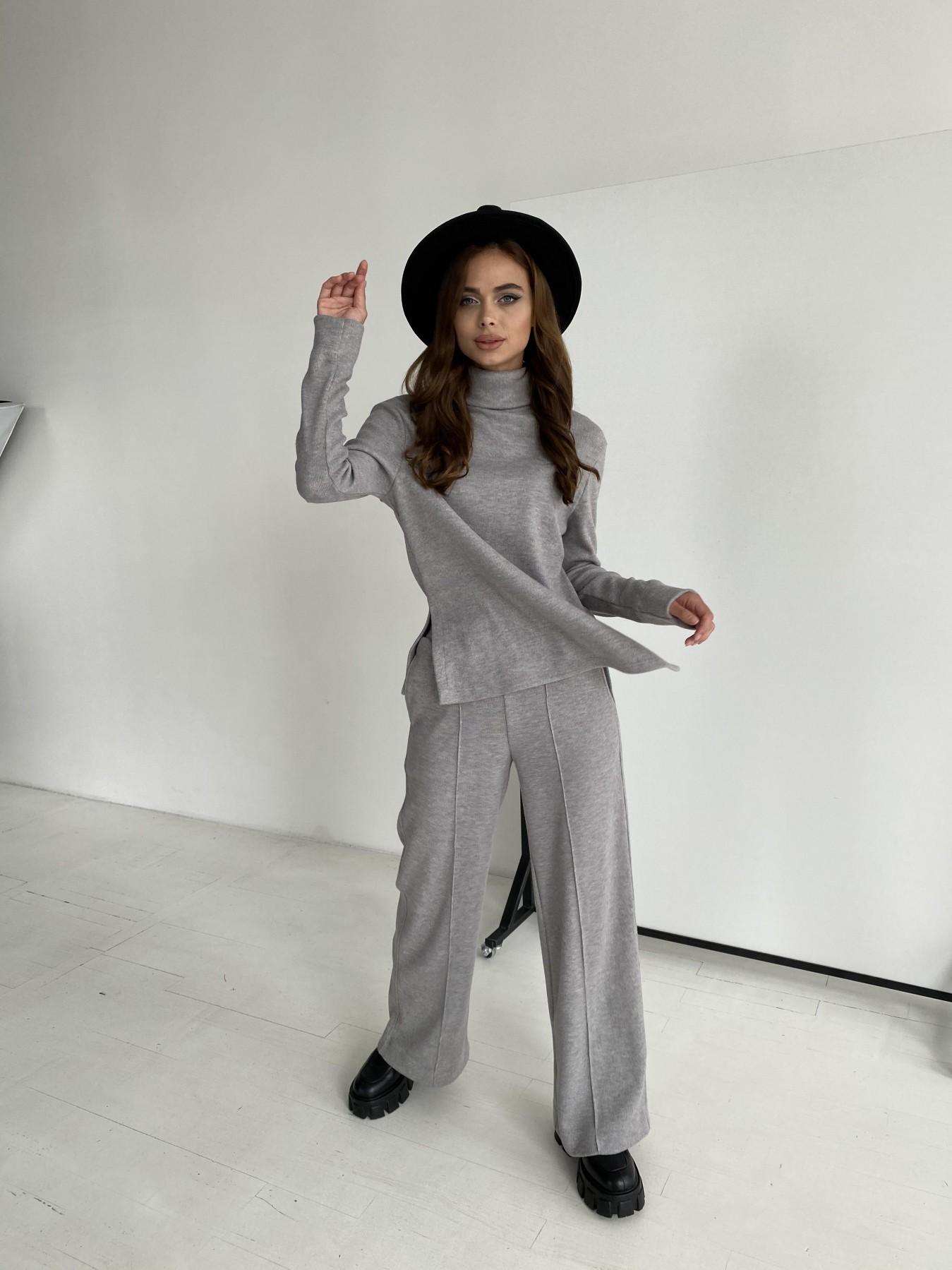 Эдем костюм из плотного трикотажа 11738 АРТ. 48444 Цвет: Серый - фото 7, интернет магазин tm-modus.ru