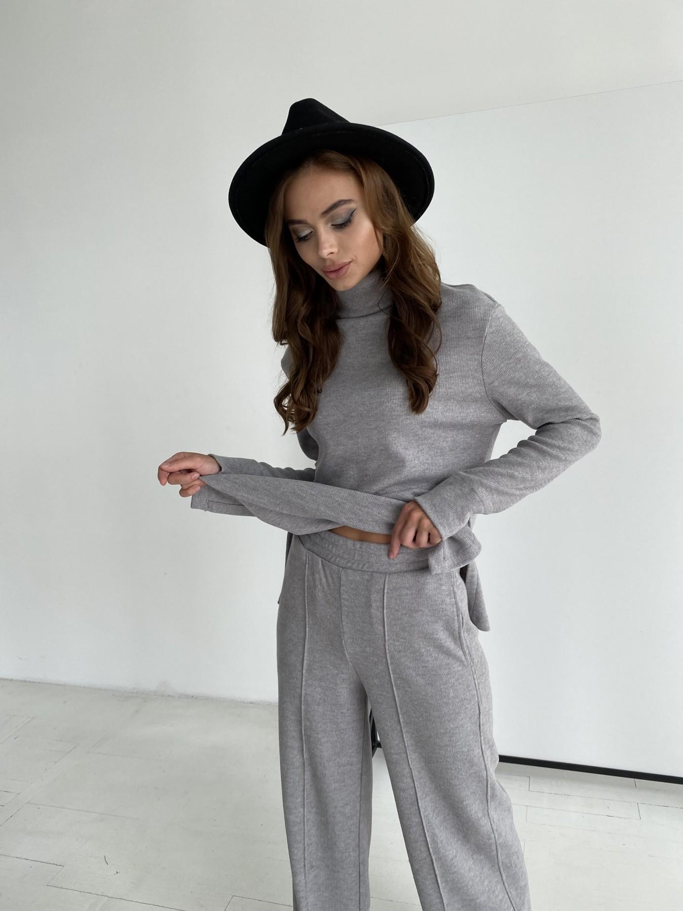 Эдем костюм из плотного трикотажа 11738 АРТ. 48444 Цвет: Серый - фото 8, интернет магазин tm-modus.ru