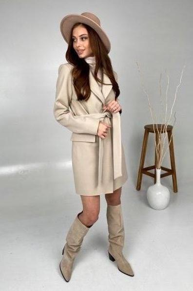 Купить Корси кашемир турецкий пальто 10665 оптом и в розницу