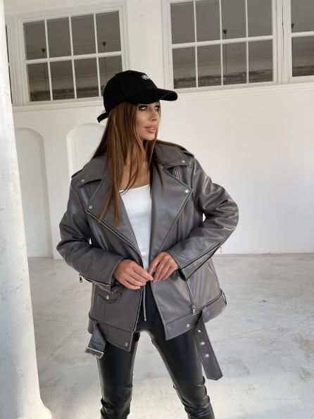 """Купити """"Босс"""" куртка из эко-кожи 11807 оптом і в роздріб"""