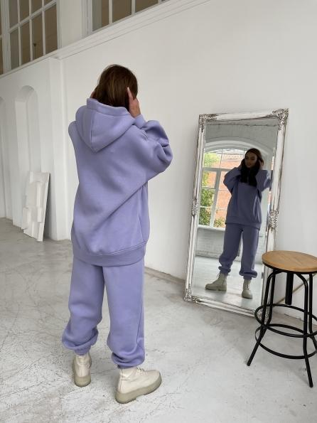 Марион утепленный костюм из трехнити 11852 Цвет: Лаванда