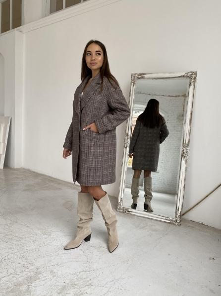 """Купить """"Вейсона"""" утепленное пальто из кашемира 11870 оптом и в розницу"""